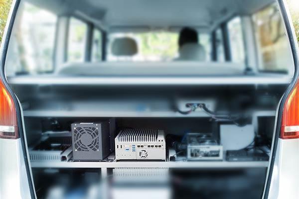 Autonomous minibus demonstration